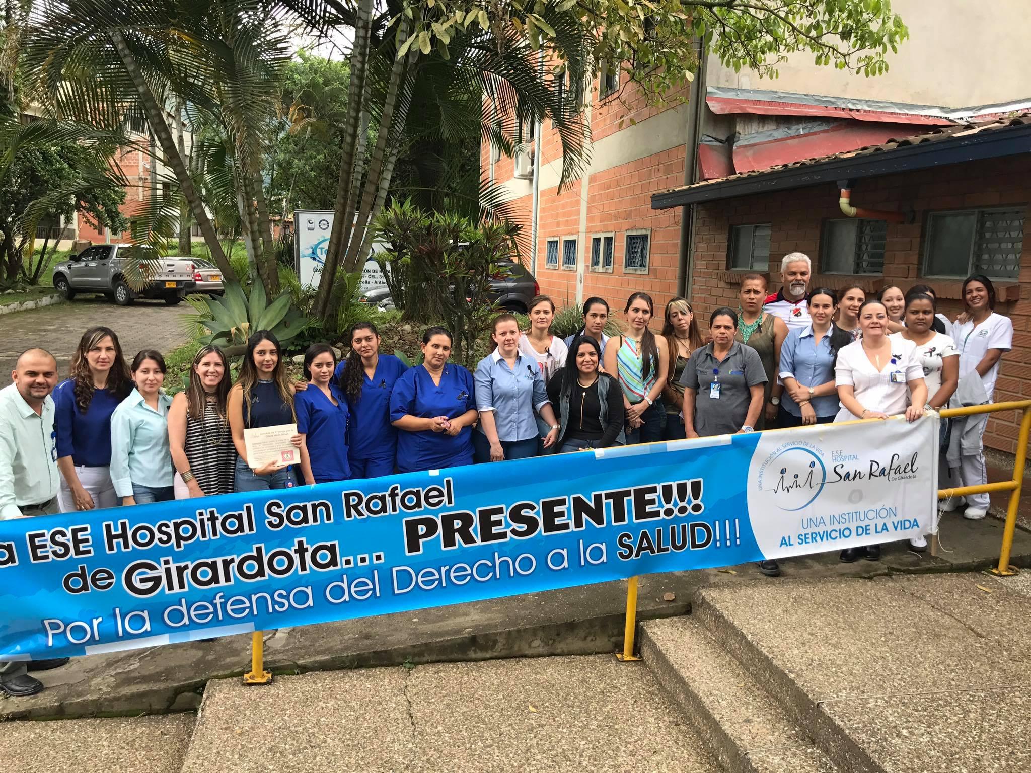JORNADA DE PROTESTA CONTRA LA CRISIS DE LA SALUD