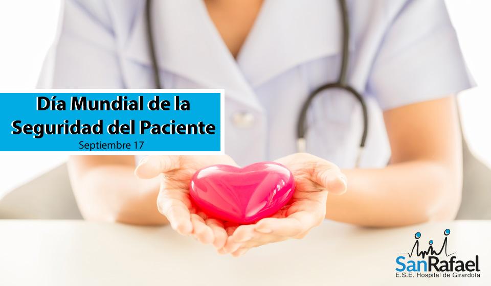 Día Mundial de la Seguridad del Paciente.
